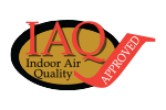 IAQ indoor air quality approved logo