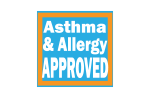 asthma allergy approved logo